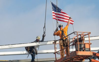 North Providence Public Safety Complex Tops Off