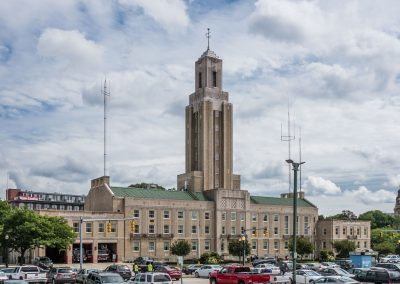 Pawtucket City Hall Tower
